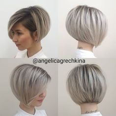 Short Hair With Layers, Short Hair Cuts For Women, Short Bob Cuts, Curly Pixie Cuts, Pixie Bob, Haircuts For Fine Hair, Short Hairstyles For Women, Short Trendy Haircuts, Stacked Haircuts