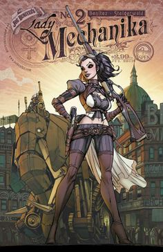 Lady Mechanika-Steampunk