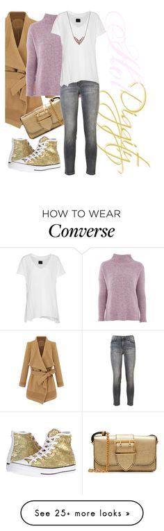 """Hot Digity"" by april-wilson-nolen on Polyvore featuring Topshop, Burberry, Current/Elliott, RtA, Converse and Shaun Leane"