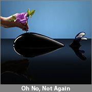 ThinkGeek :: Whale Flower Vase