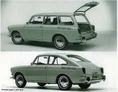 VW Variant and VW Fastback