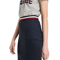 Image for RIBBED MINI SKIRT from Tommy Hilfiger