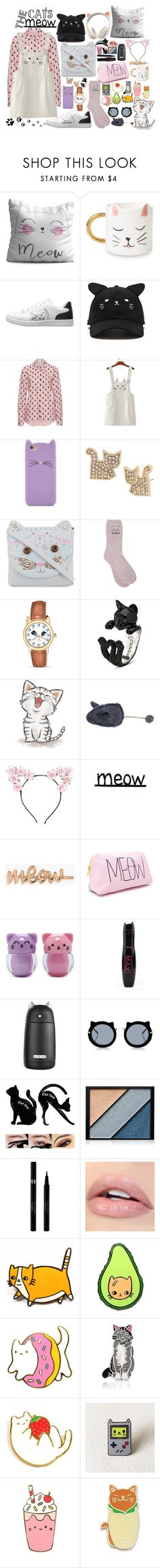 """""""The Cat's Meow"""" by alyson7123 ❤ liked on Polyvore featuring Oyo Home, ED Ellen DeGeneres, Forever 21, Betsey Johnson, Monsoon, M&Co, The Bradford Exchange, Lulu in the Sky, Boohoo and Elizabeth Arden"""