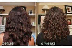 Curly Girl Method - Before and After - taking natural waves/curls to their best
