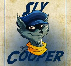 Sly Cooper by ~GoldenFox123187 on deviantART