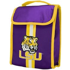 NCAA LSU Tigers Velcro Lunch Bag by Forever Collectibles. $7.20. LSU Tigers Velcro Lunch Bag. Save 60% Off!