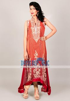 Coral Dresses for Wedding and Engagement - Pakistani Dresses Online