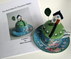 Tiny World Pincushion class Friday July 26 San por MimiKirchner