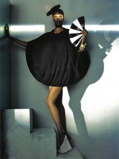 steven meisel . grace jones . vogue Italia
