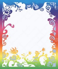 Birthday Card Borders Designs