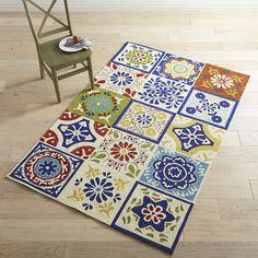 Tile Pattern 8x10 Rug