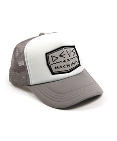 DEUS Nick Trucker cap - white grey Gorras Camioneras 2c5a6056db0