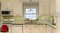 From replacing counters and cabinets to adding all new appliances, this kitchen transformation is almost too good to be true!