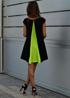 fc02af2616 Iconic Trends Fashionista Of Summer Apparel Giglio Dress Back Little Dresses  Little Dress Black Little Dress Renata Giglio Little Dress Neon Green Pleat  ...