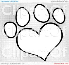 dog paw tattoos -would love this with my pups initials in it (D, M, F, B).