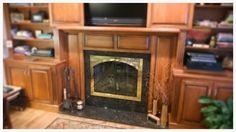 Fireplace Glass Doors, Hearth, Southern, Furniture, Design, Home Decor, Log Burner, Home, Decoration Home