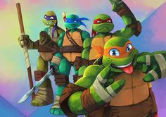 Heroes in a Half-Shell by Remainaery