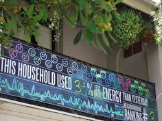 Neighborhood Scoreboards: Exposing Energy Consumption in the Street
