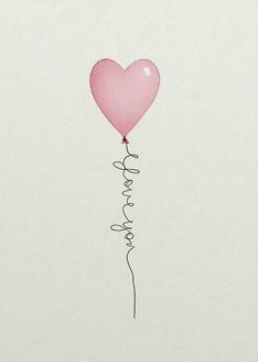 Love & hug Quotes : Hartje ballon - Quotes Sayings