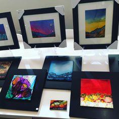 "103 Likes, 13 Comments - A and K Art Studio (@aandkartstudio) on Instagram: ""#tbt #throwbackthursday #christmasshow #aandkartstudio #rangerink #paintingoftheday #paintingontile…"""