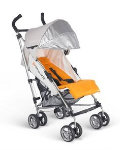 Uppababy G-Luxe Stroller Orange  - Click image twice for more info - See a larger selection of baby single strollers  at http://zbabyproducts.com/product-category/single-strollers/ -baby,kids, infant, nursery, kid, child, toddler, baby outdoor gear, baby gift ideas,baby products