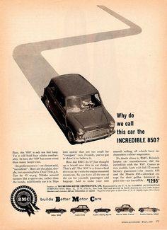 1960 BMC mini 850 Ad