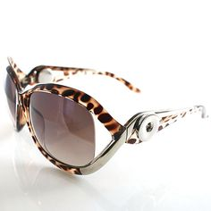 Hailey Sunglasses in Brown