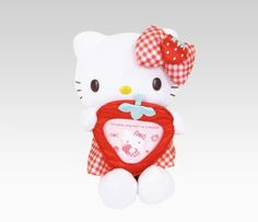Cute hello kitty plush with a picture frame build!!!! 2 in 1 woah xD #SephoraHelloKitty