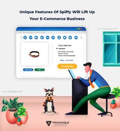 On the online platform, the best eCommerce script will lucrative your business. We Trioangle dispense the best script with the technical support to pioneer the market with all the required features. Ecommerce Software, Software Online, E Commerce Business, App Development, Script, Social Media, Fancy, Technology, Entrepreneur