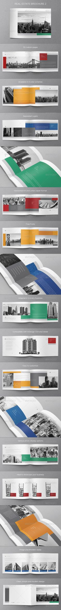 GraphicRiver Real Estate Brochure 2