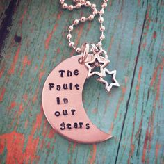 The Fault in Our Stars Necklace by tagsandthingsbyk on Etsy