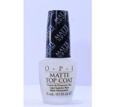 OPI Matte Top Coat, 0.5 oz