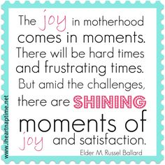 mom quote :)