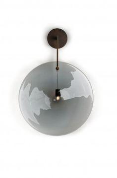 orbe-applique-wall-sconce-grey-bronze-patrick-naggar-veronese.jpg #ralph pucci