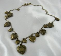 Vintage+Edwardian+Art+Nouveau+Puffy++Heart+by+threemartinilunch,+$65.00