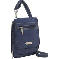 #FabricHandbags, #Handbags - baggallini Bon Voyage Bagg Crinkle Nylon - Tote