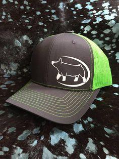 5db8e0a40fa Show Pig Neon Mesh Snapback Hat