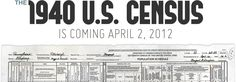 Can not wait for the release of the 1940 Census, so much more info. than the others before it!!
