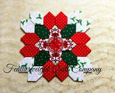 Sew and Sow Farm: Patchwork of the Crosses - Christmas 2015