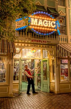 Magic Shop on Main Street, Disneyland, this is where Steve Martin used to work