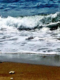 A la playa de Cala at Fuengirola, Andalucia