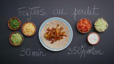 Fajitas au poulet | Cuisine futée, parents pressés