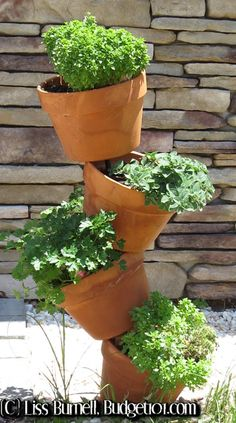 Tipsy Pot Gardening