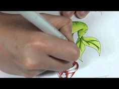 Copic Coloring Tutorial - YouTube