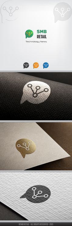 Design #7 by ID Burlacu | Create a LOGO for hip news site about cool tech for retailers.