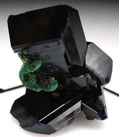 + Azurite with Malachite / Mineral Friends <3
