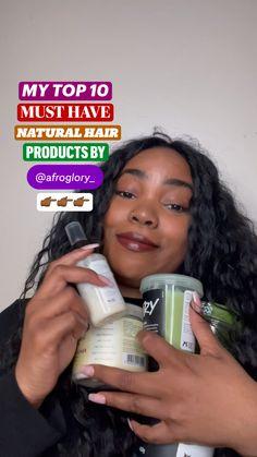 4c Hair Growth, Natural Hair Growth Tips, Hair Growth Treatment, Natural Hair Styles, Long Natural Hair, Curly Hair Tips, Curly Hair Care, Curly Hair Styles, Ouai Hair Oil