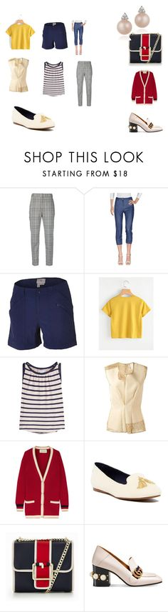 """Natalie's kapsula"" by oxana-matikainen on Polyvore featuring мода, Alexander Wang, Royal Robbins, Velvet, Comme des Garçons, Gucci, Jack Rogers, Tommy Hilfiger и Icz Stonez"