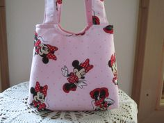 Tote Purse Boutique  Child Bag Mouse Made in by Antiquebasketlady, $16.00