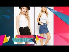 Steal Their Look: Button Front Skirt - iLook - YouTube